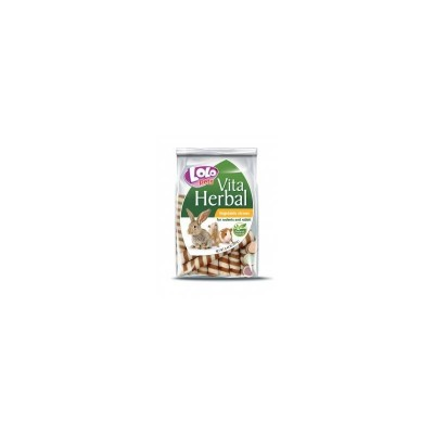 Lolo Pets Vita Herbal Vegetable and Fruit Straws Rodents and Rabbit 200g